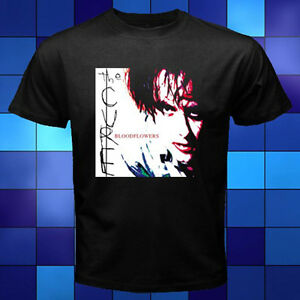 The Cure Bloodflowers English Rock Band Black T-Shirt Size S to 3XL