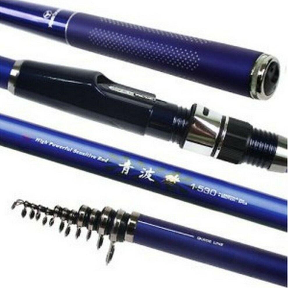 YONG SUNG KOREA 17' 6  Télescopique Carbone-Graphite Saltwater Fishing Rod