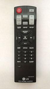 Details about GHYREX Remote AKB73655705 For LG Home Audio Mini Hi-Fi System