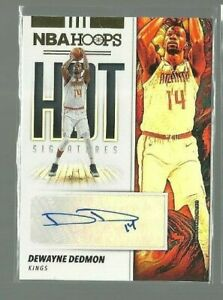 2019-20-Hoops-Hot-Signatures-50-Dewayne-Dedmon-ref-82534