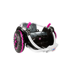 Details about Power Wheels Spinning Wild Thing 12 Volt Battery Powered Ride  On Vehicle (Pink)