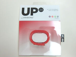 7x-Jawbone-UP24-Bundle-Out-of-Date-App-Spares-Activity-Fitness-Red-Size-Small