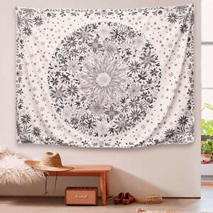 Details About Bohemian Tapestry Wall Hanging Daisy Floral Tapestry Bedroom Hippie Home Decor