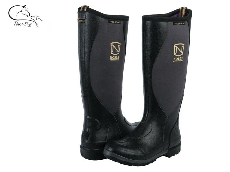 Noble Noble Noble Outfitters Para Mujer lodos Stay Cool botas Wellington alta Welly Entrega Gratis ea85ba
