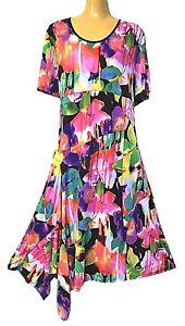 TS-dress-TAKING-SHAPE-plus-sz-M-18-20-Costa-Rica-Dress-stunning-stretch-NWT
