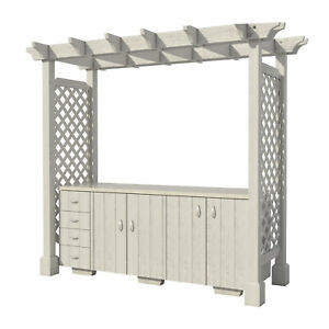 Outdoor-Kitchen-with-Pergola-Plans-DIY-for-Backyard-Patio-Furniture-Cooking