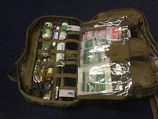 Medical side pouch multicam fit British army issued bergens,daysacks,trauma