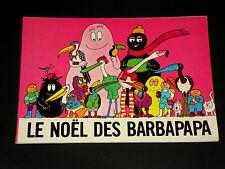 HTF - French Barbapapa - Le Noel Des Barbapapa - Tison & Taylor 1982 Softcover
