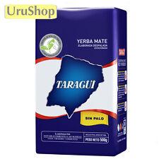Y12 YERBA MATE TARAGUI AZUL 500G TEA ARGENTINA SIN PALO