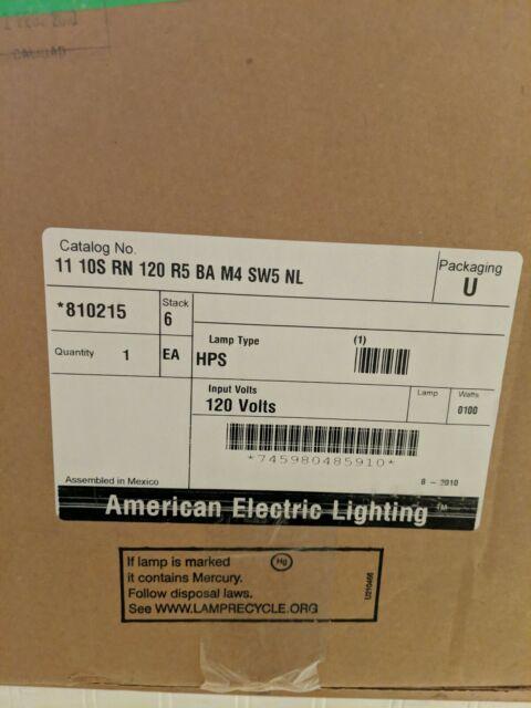 LITHONIA LIGHTING 11 10S RN 120 R5 BA Security//Area Lighting,100w