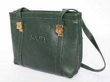 JOOP Vintage Shoulder Bag - Green leather - 1990s - Small