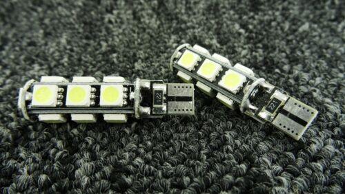 PROSCHE CAR LED ERROR FREE CANBUS 13 SMD XENON WHITE W5W 501 SIDE LIGHT BULB