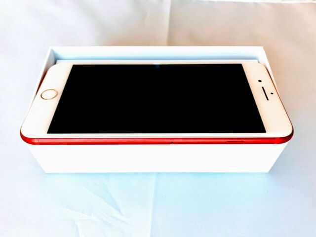 Apple Iphone 7 Plus Product Red 256gb Unlocked A1661 Cdma Gsm For Sale Online Ebay