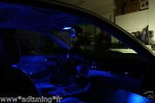 KIT 9 AMPOULE LED BLEU SMD PLAFONNIER BAS CANBUS BMW SERIE 3 E46 320D 330D