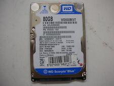 """WD Scorpio Blue 80gb WD800BEVT-22ZCT0 2061-701499-E00 AC 2,5"""" SATA"""