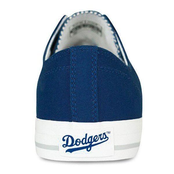 LA Dodgers Logo MLB Row One Team Apparel Men Women Kids Boys Sneakers Shoes