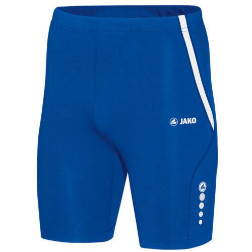 JAKO Tight Athletico Herren Jogging Laufhose kurz Running Sporthose blau 8525