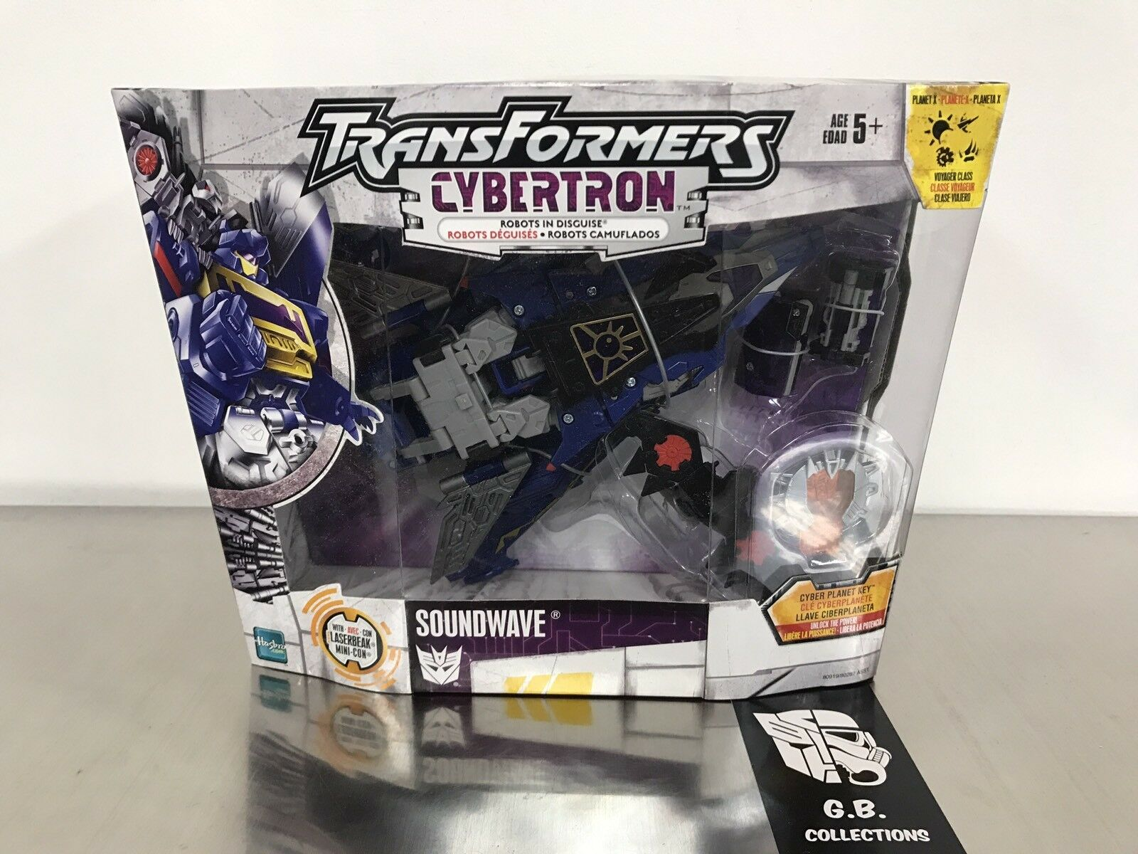 Transformers Cybertron Soundwave Voyager Class NEW SEALED