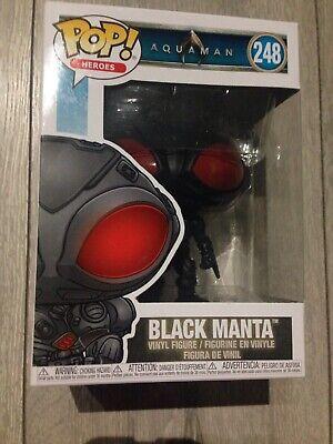 Sezione Speciale Pop! Eroi Dc Aquaman 248 Black Manta Figura In Vinile-mostra Il Titolo Originale