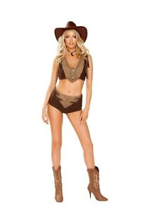 Sexy-Women-039-s-CowGirl-Costume-Western-Cowgirl-Cosplay-Halloween-Costume