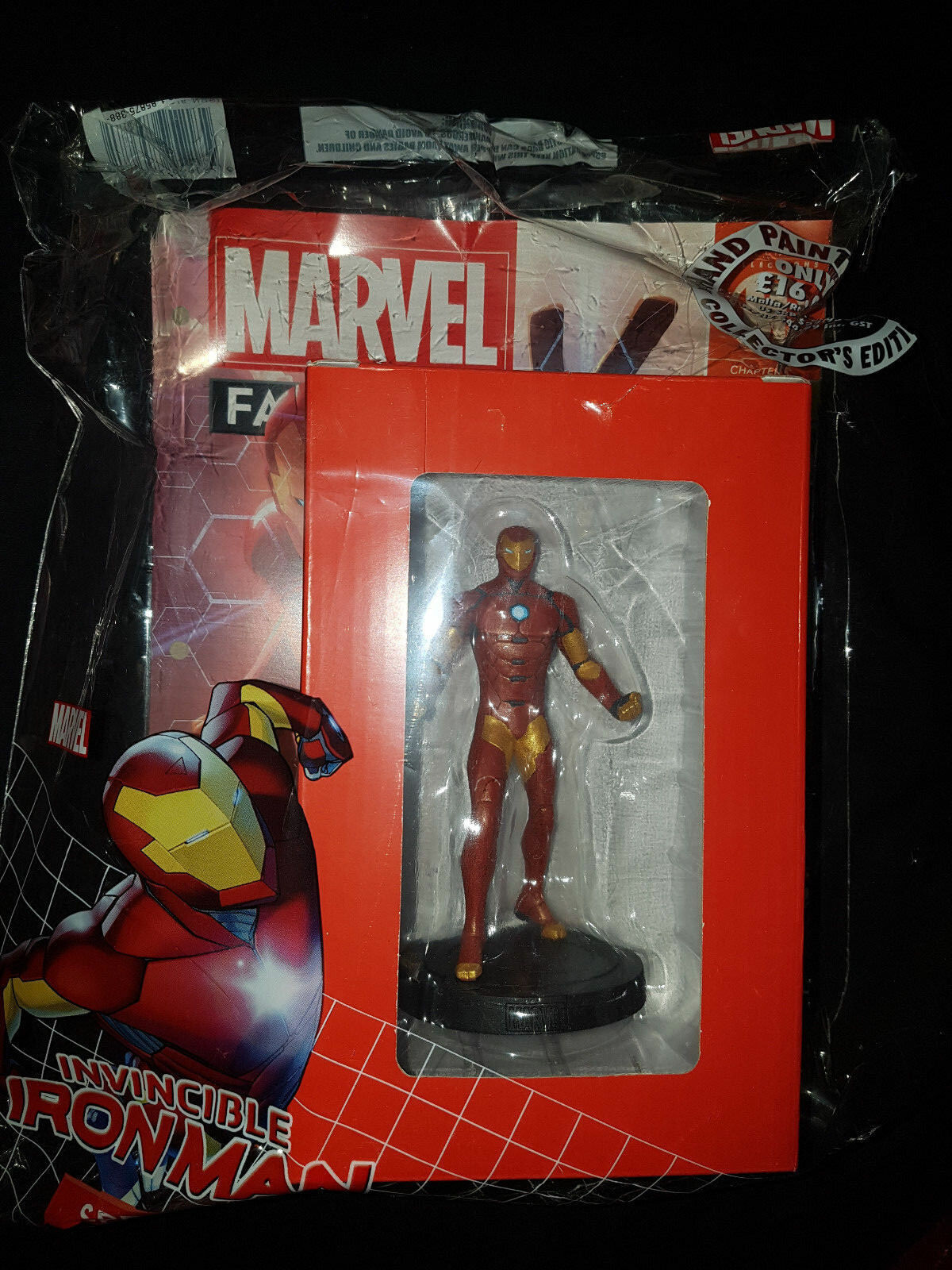 NEW AND SEALED Eaglemoss, MARVEL Fact Files    Invincible Iron Man Special fbdd65