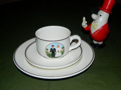 Villeroy & Boch Naif Wedding Kaffeegedeck 3tlg. Neu Hochzeit