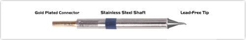 "NEW Thermaltronics K60SB005 Soldering Tip TMT-2000S-K Bent Sharp 30° 0.51mm .02/"""
