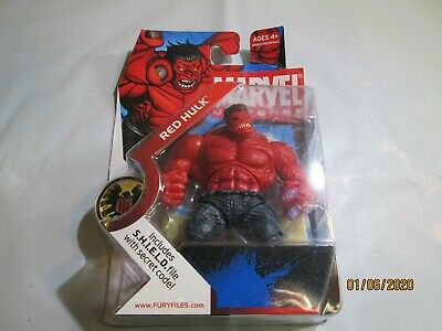 "Marvel Universe 3.75/"" Red Hulk Loose Action Figure"