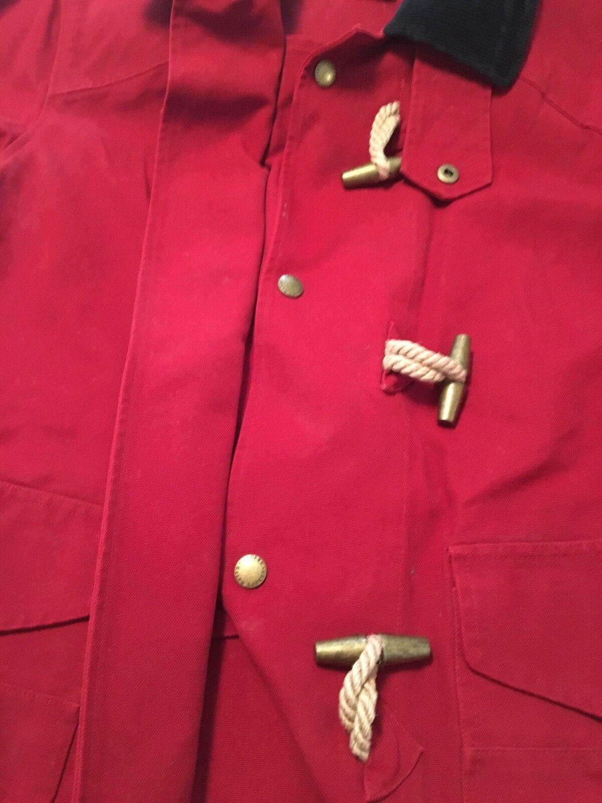 RALPH LAUREN Women's RED Nautical Rope Tie Tie Tie Clasp Size  Medium 87693b