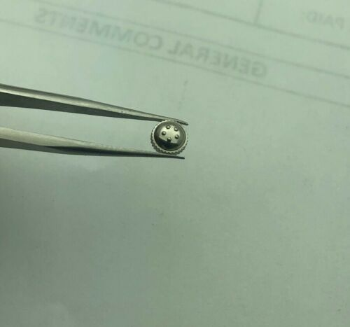 NOS ETERNA-MATIC ORIGINAL  5.2mm  STEEL UNUSED CROWN