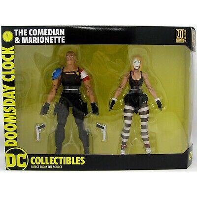 "DC Collectibles Watchmen Doomsday Clock Comedian /& Marionette 7/"" Action Figures"