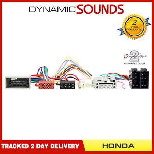 Connects2-CT10HD04-Perroquet-Sot-Adaptateur-Faiseau-T-Iso-Cable-Cable-pour-Honda