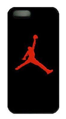 JORDAN COVER IPHONE 7/6/6S HARD SKIN CASE CHICAGO LOGO BULLS BLACK RED MICHAEL