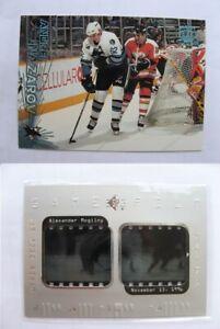 1997-98 SPx GF12 Mogilny Alexander  game film  canucks