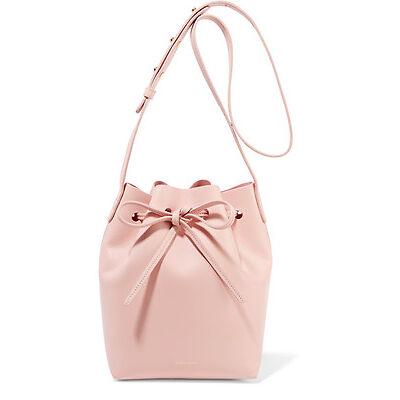 Authentic Mansur Gavriel Mini Bucket Bag Rosa calf leather Great Condition