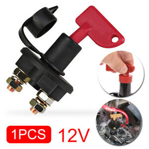 Details about 12V Battery Isolator Disconnect Cut Off Power Kill Switch for  Car Truck Boat ATV