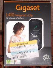 Gigaset L410 Freisprech-Clip für schnurlose Telefone schwarz