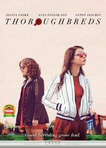 Thoroughbreds-New-DVD-w-Slipcover-Cooke-Taylor-Joy-Usually-ships-in-12-hours