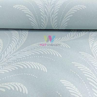 Grandeco Reflect Plume Feather Damask Pattern Wallpaper Textured Glitter Motif