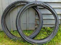 "kenda flame beach cruiser fat tyre custom bike 26"" x 3.0 black wide pair of..."