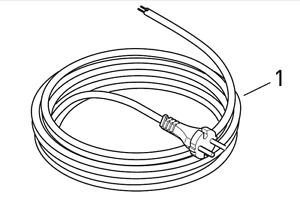 Sebo Câble 12,25 M Connecteur Tuyau Câble Cordon d/'alimentation 5260gs XP 1 2 3 10 20 30