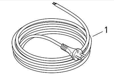 Sebo Zuleitung Anschlussleitung Kabel Netzkabel 1870dg für 370 470 BS36 BS46