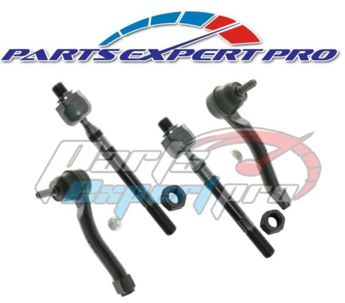 2007-2012 ELANTRA STEERING TIE ROD END INNER OUTER SET 2010-2013 FORTE
