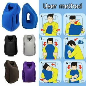 Inflatable-Air-Travel-Pillow-Airplane-Neck-Head-Chin-Cushion-Office-Nap-Pillow