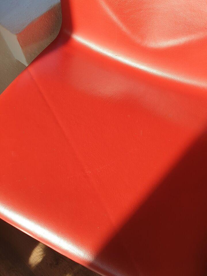 Andet, Læder, Four cast lounge stole