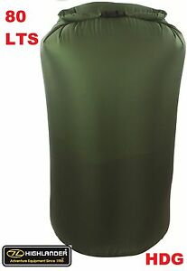 Image Is Loading British Army Og 100 Waterproof 80l Dry Bag