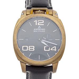 Anonimo-Militare-Bronze-Auto-43-4mm-Mens-Watch-Strap-AM-1020-04-001-A01