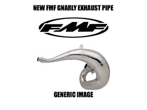 NEW-THICK-FMF-GNARLY-PIPE-EXHAUST-CHAMBER-1997-1998-1999-2000-KAWASAKI-KX250