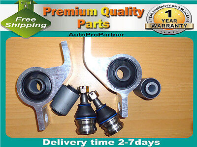 6 FRONT LOWER CONTROL ARM BUSHING BALL JOINT FOR SUBARU FORESTER 98-07