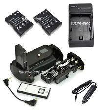 Battery Hand Grip For Nikon D5100 D5200+ AA Holder+Remote+2 EN-EL14+ Car Charger